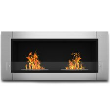 Willow Ventless Wall Mount Bio-Ethanol Fireplace
