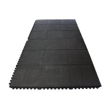 Anti-Fatigue Heavy Duty Solid Rubber Floor Tiles Utility Mat