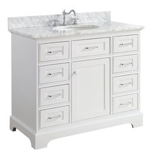 "Aria 42"" Single Bathroom Vanity Set"
