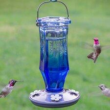 Sapphire Starburst Vintage Hummingbird Feeder