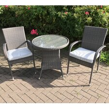 Marlow 2 Seater Bistro Set with Cushions