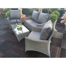 Paris 4 Seater Sofa Set