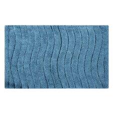 Vertical Wave Striped Bath Rug