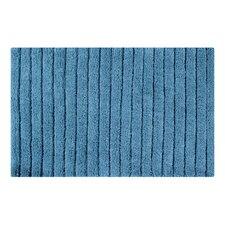 Vertically Striped Bath Rug