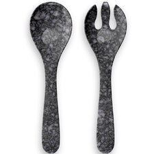 Allium 2 Piece Salad Servers Set