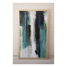 Parisian Rain' Framed Painting on Wrapped Canvas