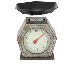Vintage Metal Mechanical Kitchen Scale