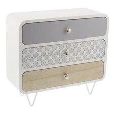 Wood and Metal Jewelry Box