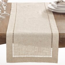 Kitt Hemstitched Table Runner