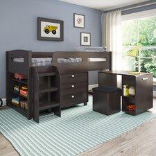 Deion Twin Loft Bed with Storage
