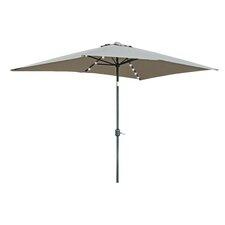6.5' x 10' Destefano Rectangular Illuminated Umbrella