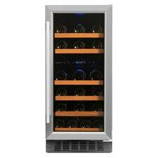 32 Bottle Dual Zone Convertible Wine Cooler