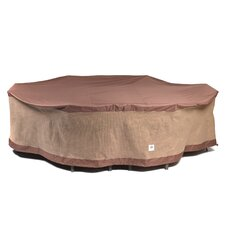 Oval Patio Table & Chairs Cover