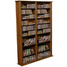 Large Double Multimedia Storage Rack