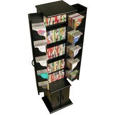 CD / DVD Wood Multimedia Cabinet