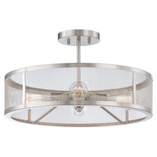 Hanson 4-Light Semi-Flush Mount
