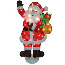 Flat Santa Christmas Decoration