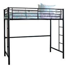 quick view belfort metal twin loft bed