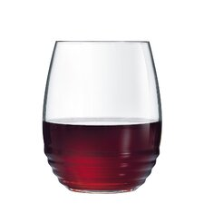 Hertford 17 oz. Stemless Wine Glass (Set of 12)