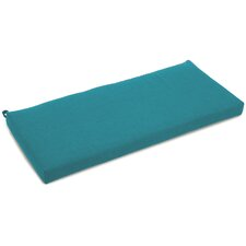 Blue Outdoor Bench Cushion