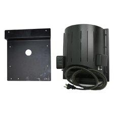 Dog Products Heat-N-Breeze Dog House Heater and Fan with Igloo Bracket