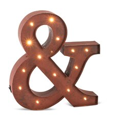 "Lighted ""&"" Marquee Sign"