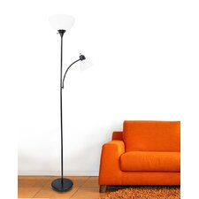 "Nahla 71.37"" Torchiere Floor Lamp"