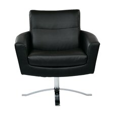 Leontine Leather Arm Chair