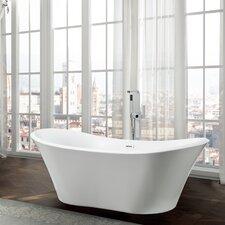 "Ancona 71"" x 31.5"" Freestanding Soaking Bathtub"