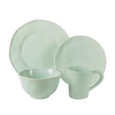 Bonham 16 Piece Dinnerware Set, Service for 4