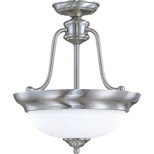 Glenwood 3-Light Semi Flush Mount