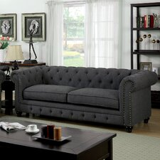 """Lindstrom 90""""  Chesterfield Sofa"""