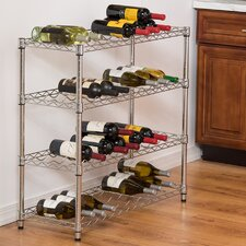 36 Bottle Floor Wine Rack