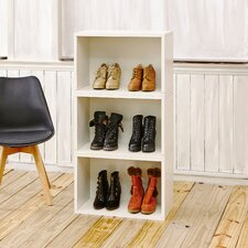 """Andrade Stackable Rectangle Plus 16"""" Cube Unit Bookcase"""