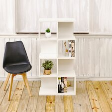 """Andrade Eco 49"""" Accent Shelves Bookcase"""
