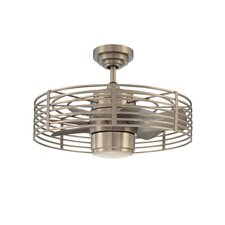 """23"""" Glasgow 7 Blade Ceiling Fan with Wall Remote"""
