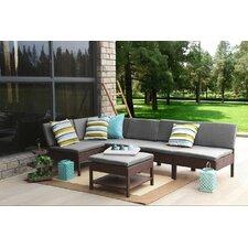 Maryann Complete Patio Garden 6 Piece Deep Seating Group