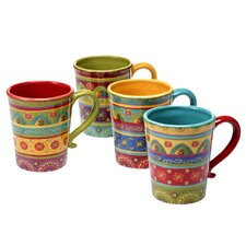 Ohlman 4 Piece Mug Set