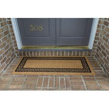 Frances Charleston Border Double Door Doormat