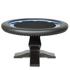 """Ginza 58"""" Velveteen LED Poker Table"""
