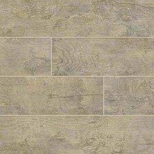 "Ecowood Copper 6"" x 24"" Porcelain Wood Look Tile in Brown"