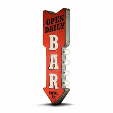 """Open Daily Bar"" LED Marquee Sign"