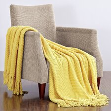 Darr Knitted Tweed Throw Blanket