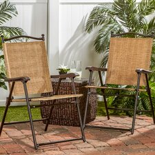 Kambos Sling Back Outdoor Chair (Set of 2)