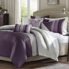 Morell 6 Piece Reversible Duvet Cover Set