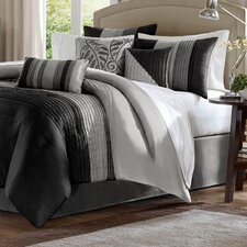 Morell 7 Piece Reversible Comforter Set