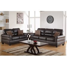 Boyster 2 Piece Sofa and Loveseat Set