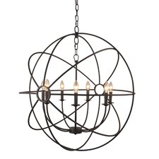 Padilla 7-Light Candle-Style Chandelier