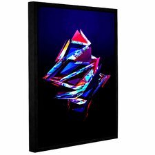 'Abstract Geometry'  Framed Graphic Art Print On Canvas