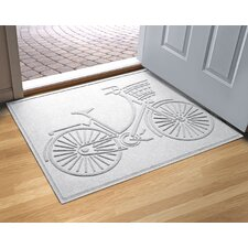 Aqua Amie Nantucket Bicycle Doormat